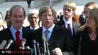 Watch Prop 8 Challengers Speak After Oral Arguments End
