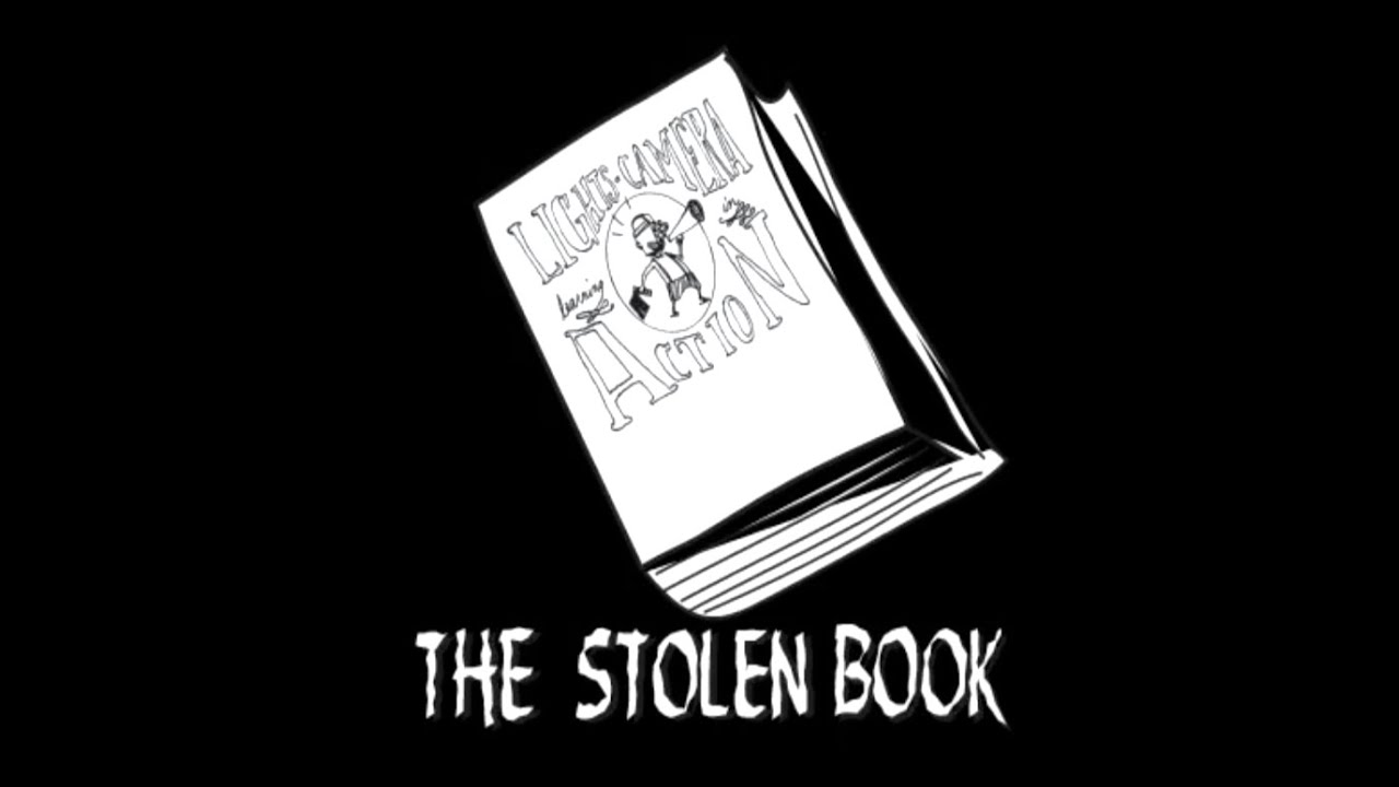 The Stolen Book-Happen's lights, camera, learning in action - 2003