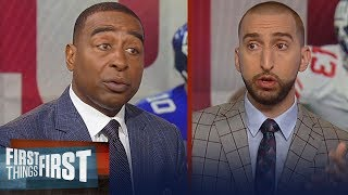 Cris and Nick preview Sunday's Giants vs. Panthers game on FOX | NFL | FIRST THINGS FIRST