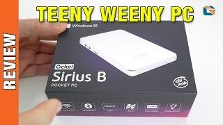 Ockel Sirius B Windows 10 Pocket PC Review #Windows10