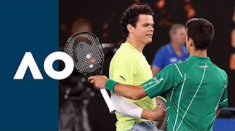 Live Novak Djokovic Vs Milos Raonic Atp Cincinnati Usa Youtube