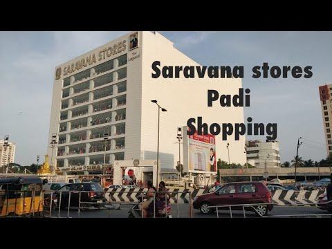 Saravana Stores Padi Shopping Lawanprakash Youtube