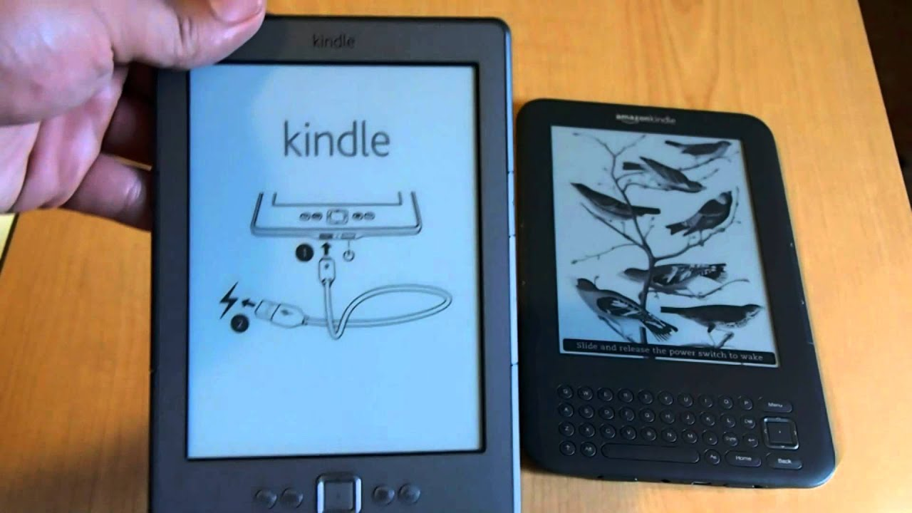 Amazon Kindle 2011 vs  Kindle Keyboard 2010 Comparison
