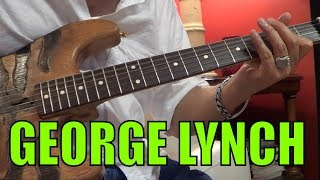 Vol. 7 - The Best of George Lynch Guitar Licks Compilation Series - 15 Licks!