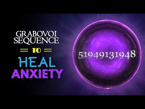 Grabovoi Sequence To Heal ANXIETY