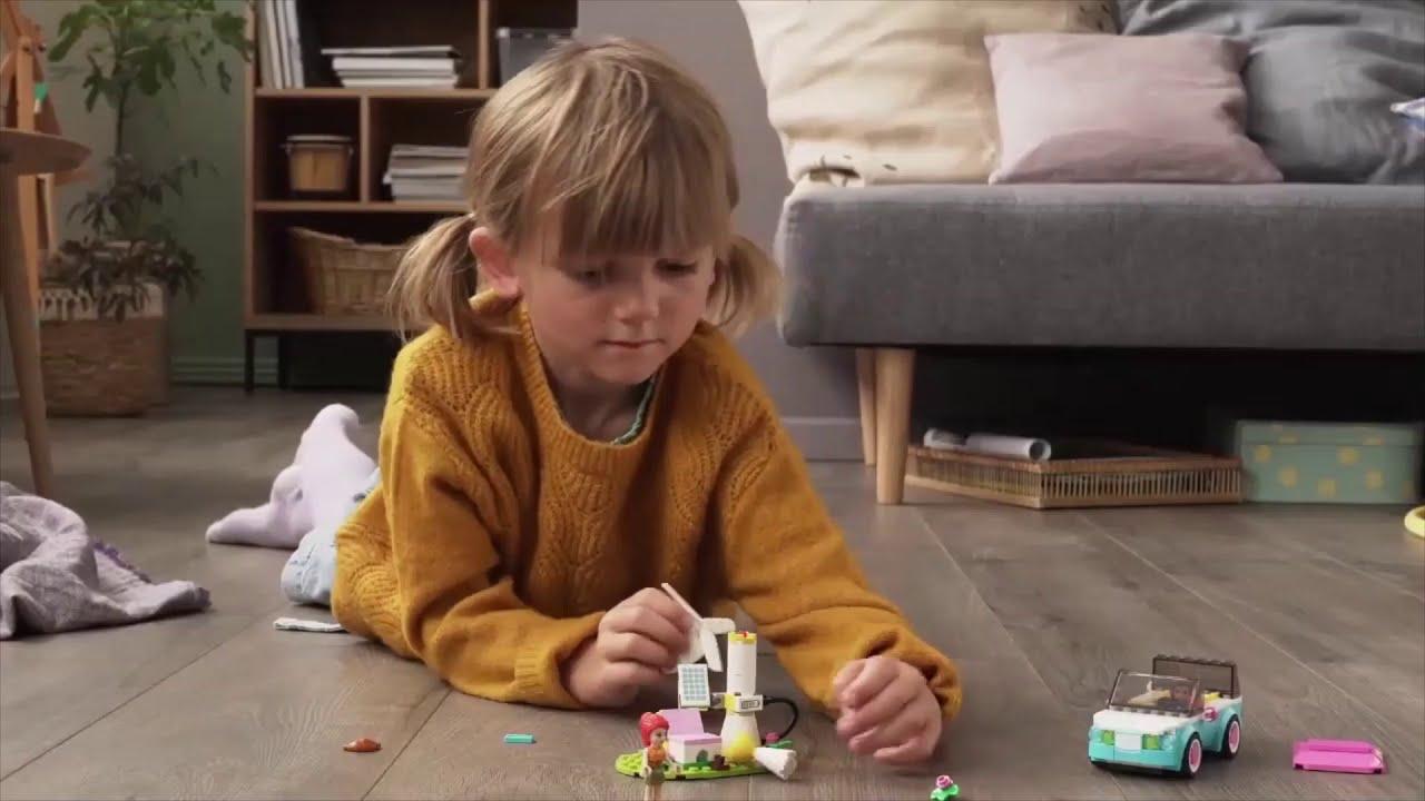 Lego Friends Masina Electrica A Oliviei 6 Ani+ 183 Piese 41443 SSV AUTO