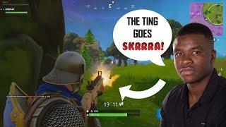 Fortnite | Big Shaq - The Ting Goes SKRRRA! (Mans Not Hot) [Edit]