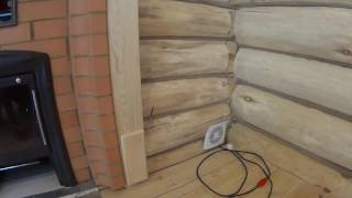 видео Проект: Баня из бруса 5х4 ~ С комнатой отдыха