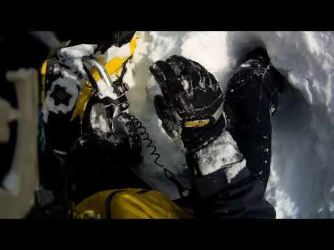 850 Hillclimb Fail turned Avalanche Scare