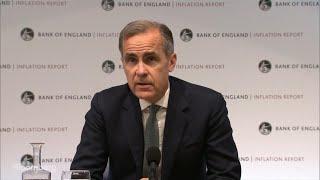 BOE's Carney on Brexit Risks, U.K. Economy, Inflation: Statement