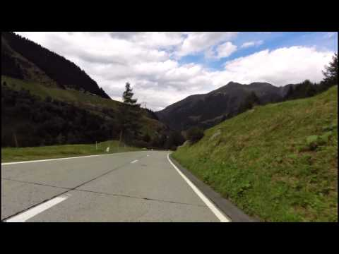 Lukmanierpass van Campra tot Curaglia Honda Varadero XL 1000 (2015)