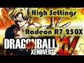 Dragonball Xenoverse TEST Radeon R7 250X 2GB