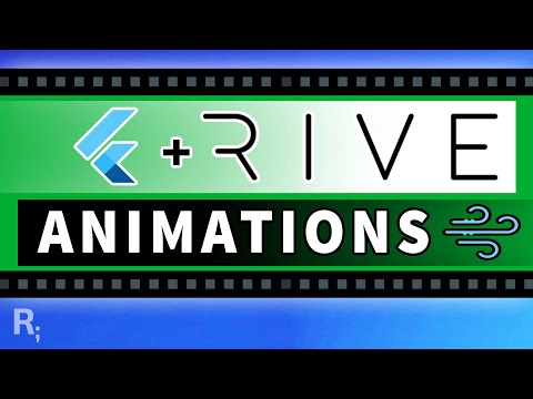 Flutter SVG Animations With Rive
