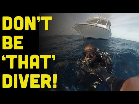 14 Divers You Do Not Want To Be On A Scuba Diving Charter Boat!