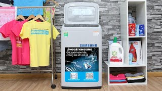 Hướng dẫn sử dụng máy giặt samsung cửa trên 7,2kg