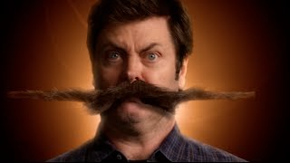 Nick Offerman's Stachedance - Movember