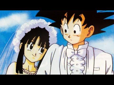 Goku se casa con Milk