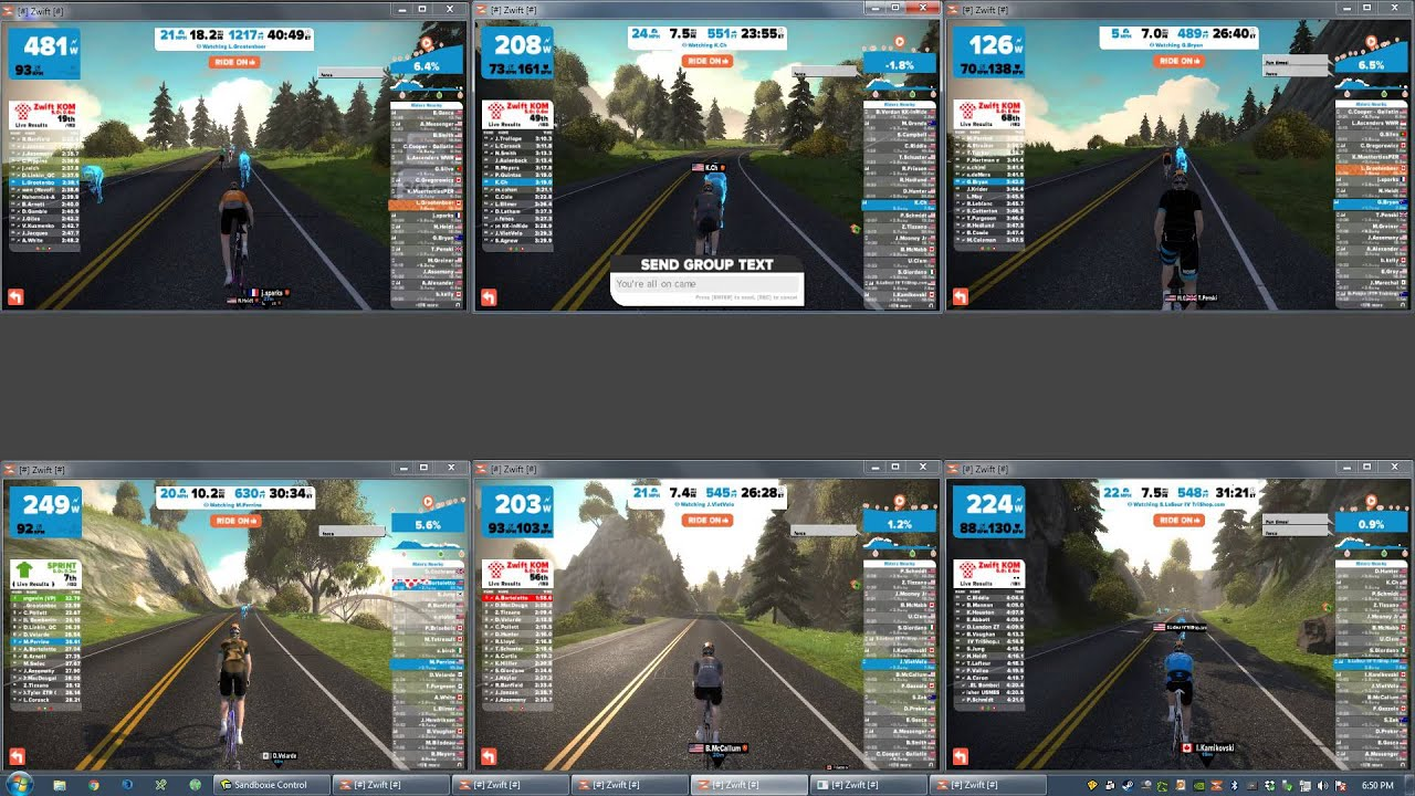 HOWTO: Run multiple Zwift sessions on the same PC (Windows only