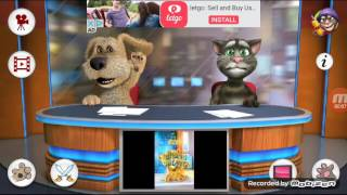 Talking Tom and Ben news Psy Gangnam style