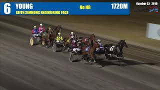 YOUNG - 22/10/2019 - Race 6 - KEITH SIMMONS ENGINEERING PACE