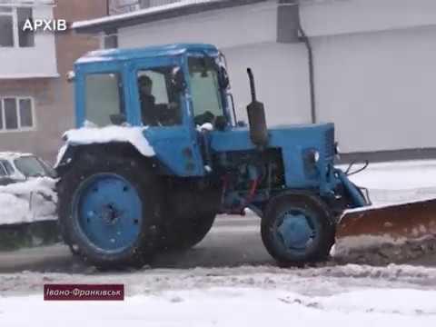 Франківські комунальники готові до зими