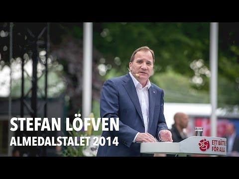 Stefan Löfvens Almedalstal 2014