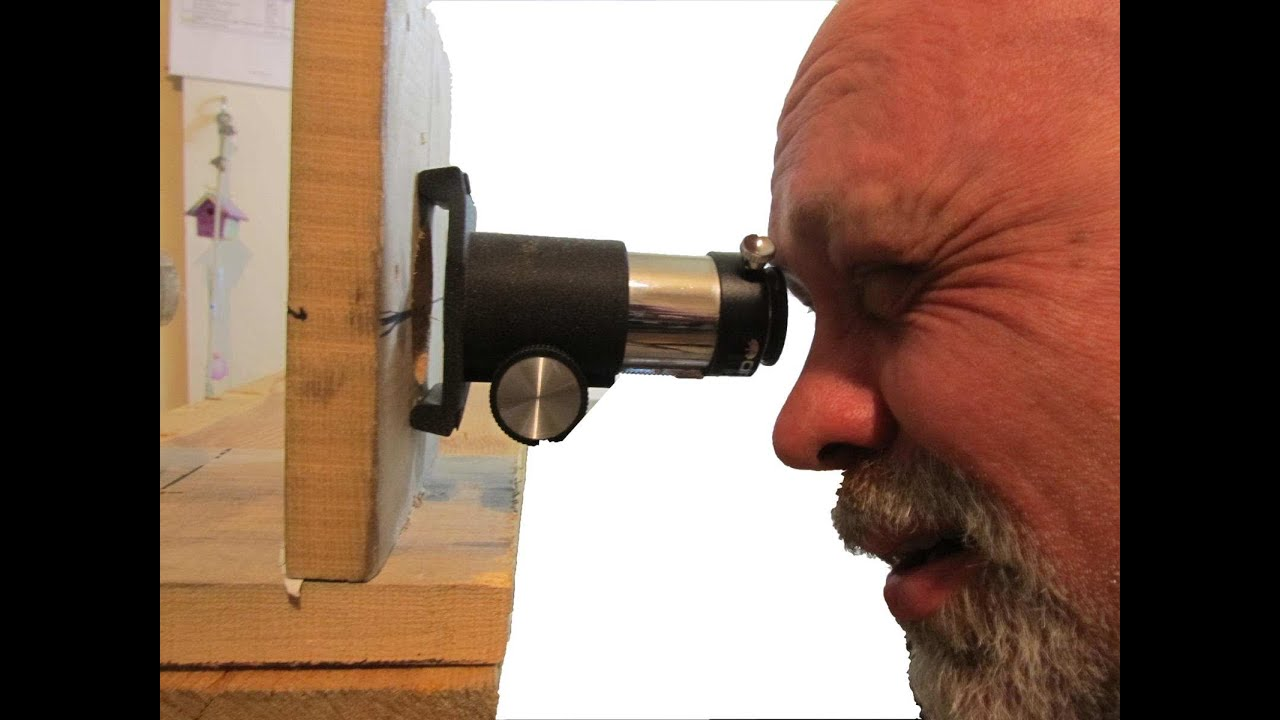 How to make a reflector telescope part 1 4 inch newtonian reflector
