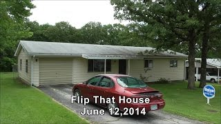 Real Life Flip That House Walk-Through Old and New