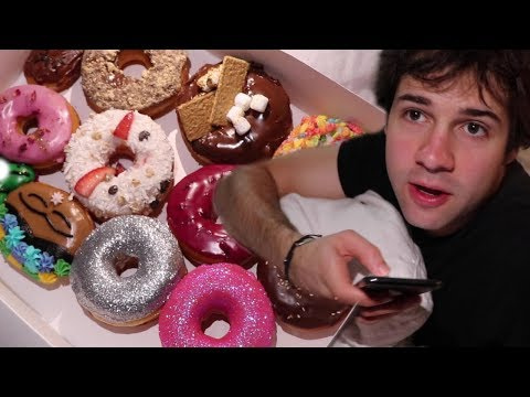 SURPRISING THE VLOG SQUAD WITH GLITTER DONUTS!!