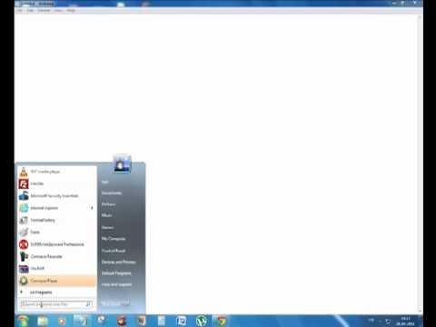 browser problem in Windows 7