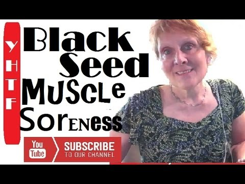 how to use black seed oil for muscle pain