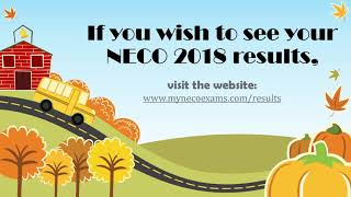 NECO 2018 Exam | National Examination Council releases 2018 Results