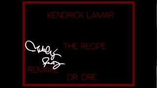 Kendrick Lamar Ft. Dr. Dre The Recipe Instrumental x Mikey Beatz Remake