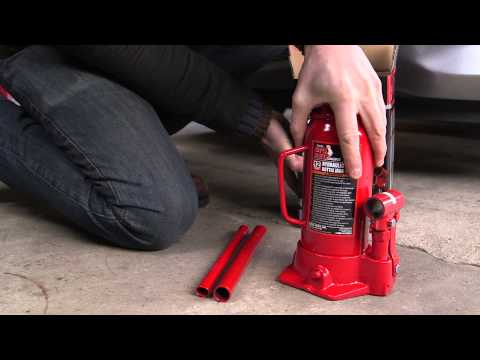 Torin Big Red 12 Ton Bottle Jack – Pep Boys