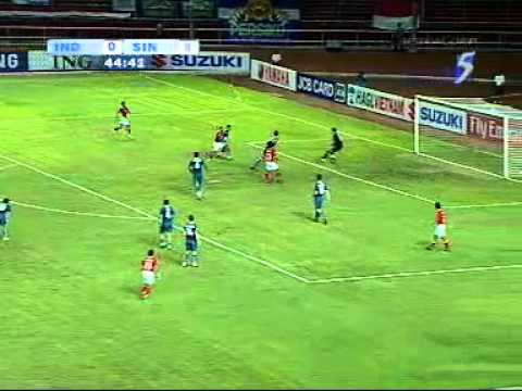 Singapore 2-0 Indonesia [Full Match] 2008 Suzuki Cup Group Stage