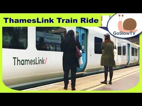 West Hampstead To Harpenden Train Ride | ThamesLink | Overground Train Rides | Slow TV | Episode 13