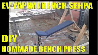 Ev Yapimi Bench Press Sehpa Part-1 (homemade Bench Press Table)