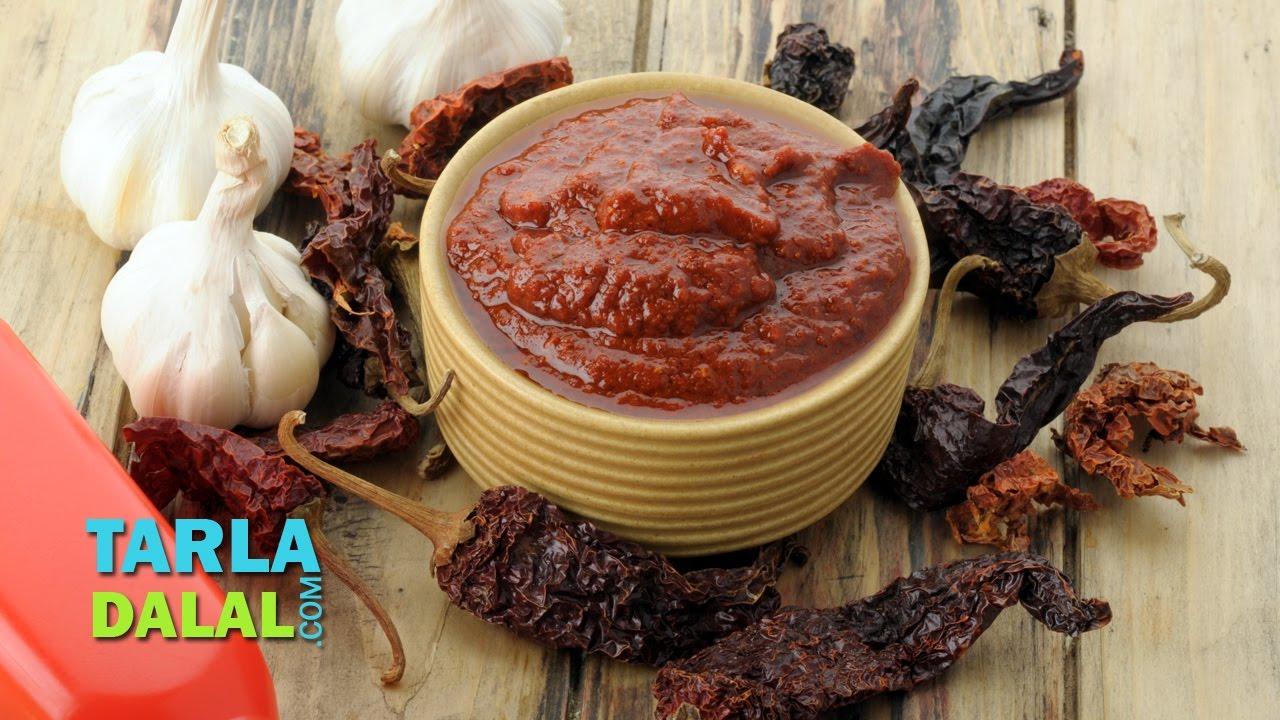 Chilli Garlic Sauce SPicy By Tarla Dalal