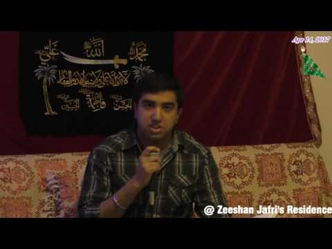 Jashan e Maulood e Kaaba @ Brother Zeeshan Jafri's Residence in Calgary, Canada