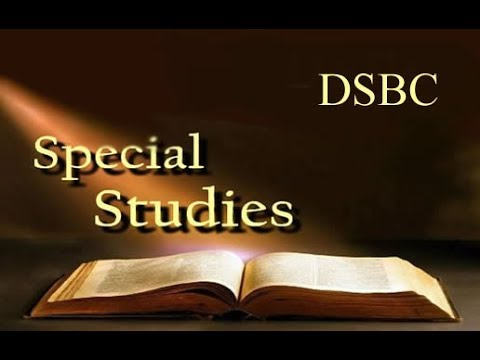 DSBC - Tony Butler - Special Study - Lessons of Life (The Prodigal Son) - Apr. 15th.  2018