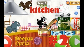 Kids Car Racing game - Beepzz Cats ||Kitchen|| #2