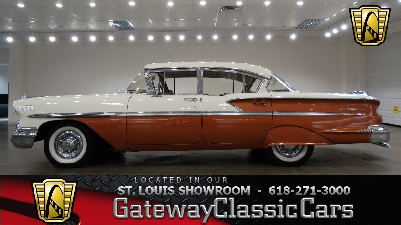 All Chevy 58 chevy bel air : 1958 Chevrolet Bel Air - Gateway Classic Cars St. Louis - #6779 ...