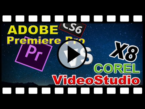 REVIEW ADOBE PREMIERE PRO CS6 VS COREL VIDEOSTUDIO X8
