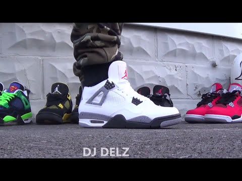nike air jordan 4 iv retro white cement grey 2012 f-150