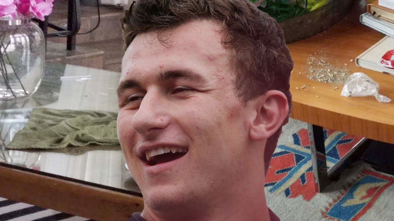 johnny manziel ruins mansion with drug filled party youtube