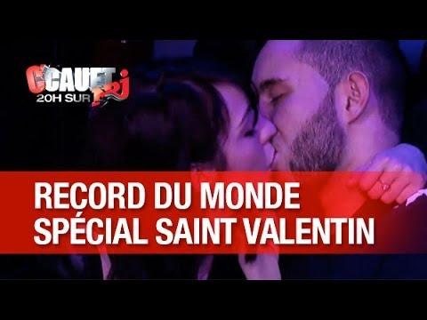 Record des plus longs baisers dans un studio de radio ! - C'Cauet sur NRJ