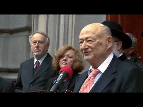 Ed Koch on Jan Karski, New York 2007