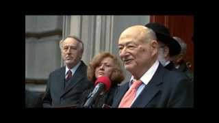 Ed Koch on Jan Karski, New York 2007