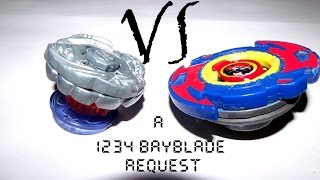 Beyblade MSF H Kraken Dragoon F230CF vs Dranzer Titan (Request By 1234 Beyblade)
