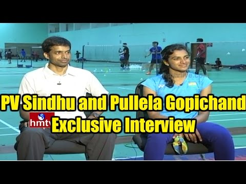 Silver Star PV Sindhu and Pullela Gopichand Exclusive Interview | Rio Olympics Success | HMTV